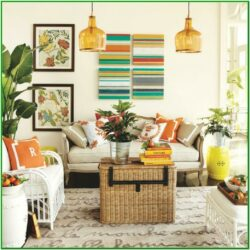 Living Room Decor For Summer