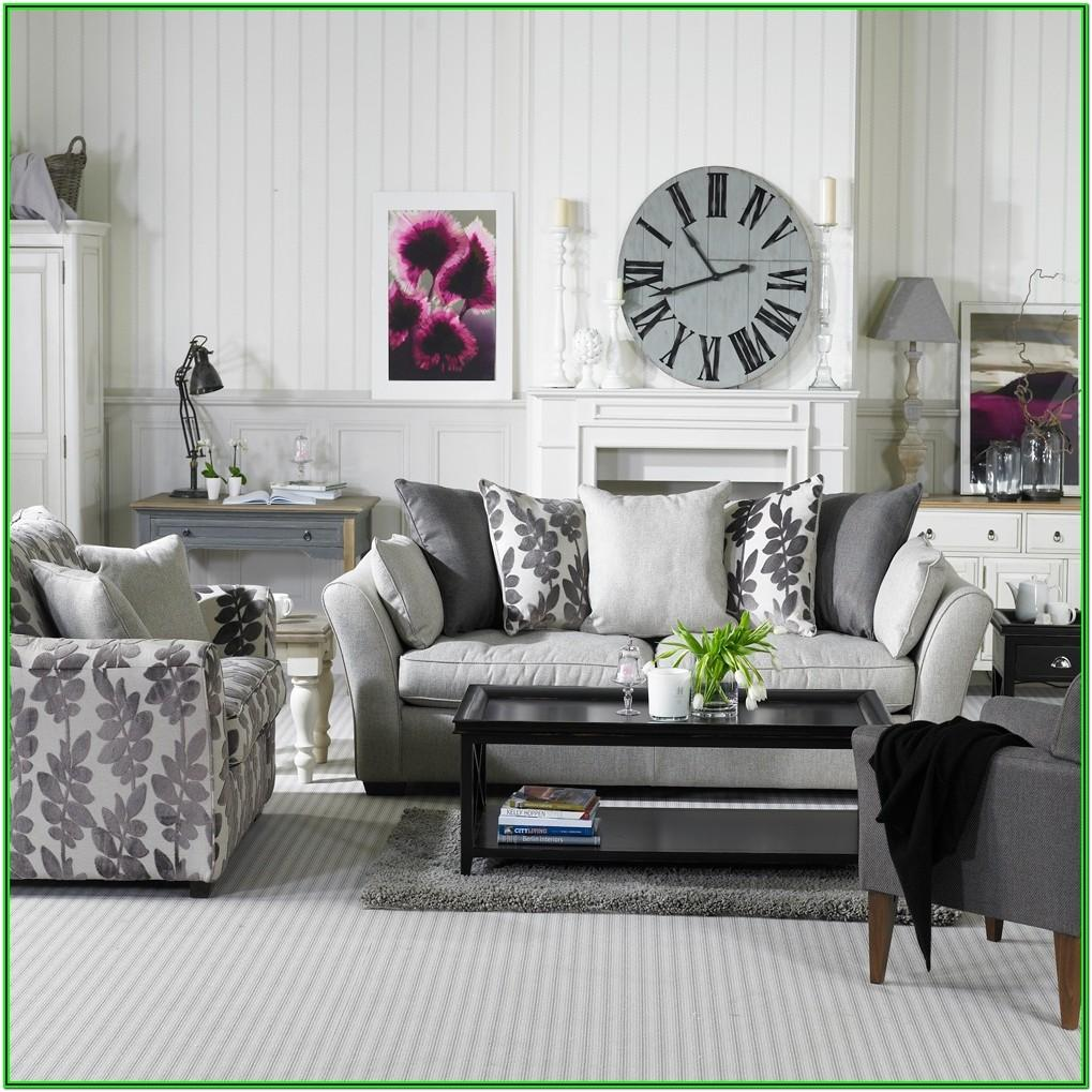Living Room Decor Gray Couch
