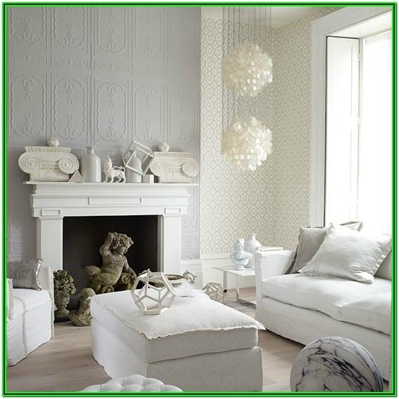 Living Room Decor Grey And White