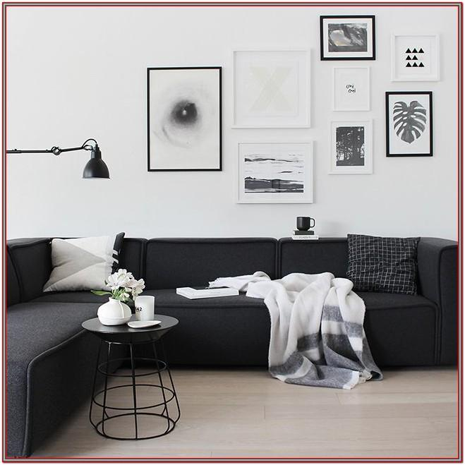 Living Room Decor Ideas Black Sofa