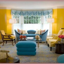 Living Room Decor Ideas Blue And Yellow
