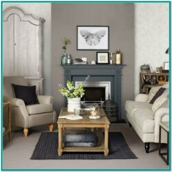 Living Room Decor Ideas Brown Gray Blue