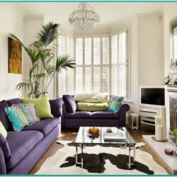 Living Room Decor Ideas Fireplace Bay Window