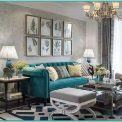 Living Room Decor Ideas Grey And Teal