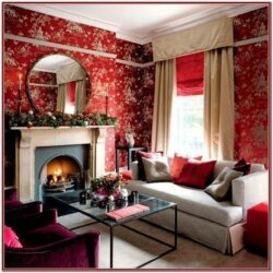 Living Room Decor Ideas In Red