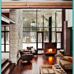 Living Room Decor Ideas Natural Wood