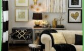 Living Room Decor Ideas White And Gold
