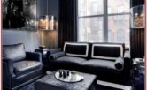 Living Room Decor Ideas With Black Couches