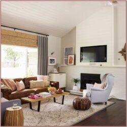 Living Room Decor Ideas With Brown Couches