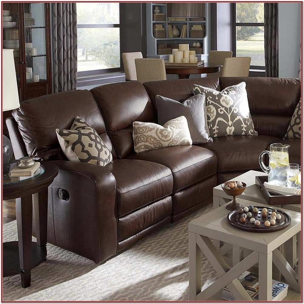 Living Room Decor Ideas With Brown Leather Sofa