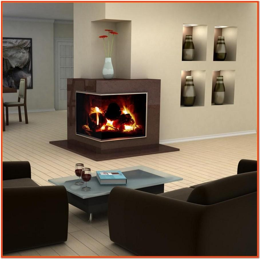 Living Room Decor Ideas With Corner Fireplace