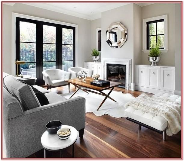 Living Room Decor Ideas With Gray Flooring