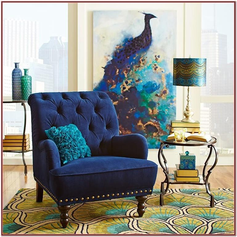 Living Room Decor Ideas With Lepakshi Peacock