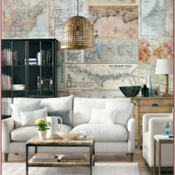Living Room Decor Ideas With Wallpaper