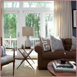 Living Room Decor Ideasin Brown