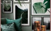 Living Room Decor In Botanical Theme
