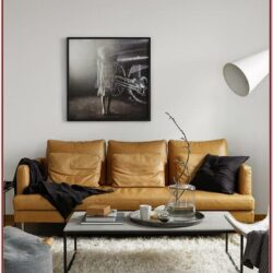 Living Room Decor Leather Couches