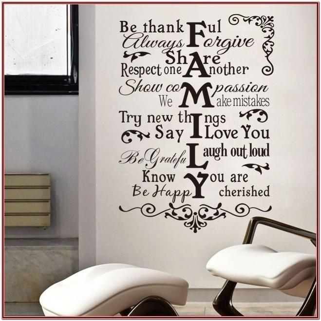 Living Room Decor Quotes