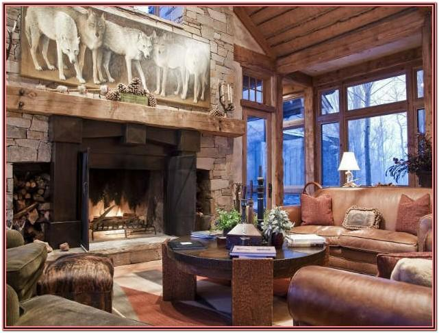 Living Room Decor Ristic And Industry