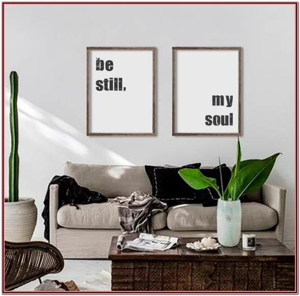 Living Room Decor Signs