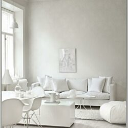 Living Room Decor White