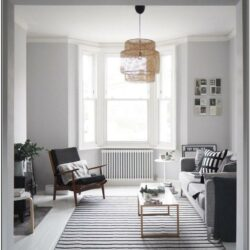 Living Room Decor With Light Gray Walls