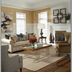 Living Room Decor With Tan Walls