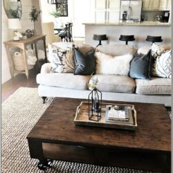 Living Room Decorate Apt Sectional Rustic