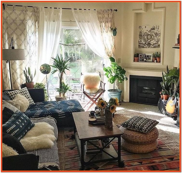 Living Room Decorating Ideas Bohemian