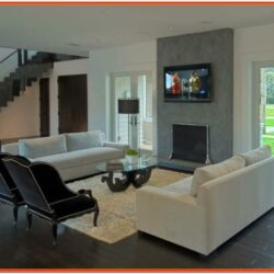 Living Room Decorating Ideas Dark Wood Floors