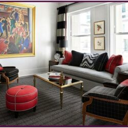 Living Room Decorating Ideas Red And Black