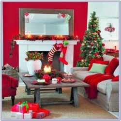 Living Room Dining Room Centerpiece Christmas Decor Ideas