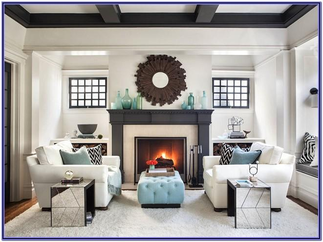 Living Room Fireplace Tv Decorating Ideas