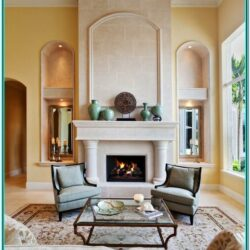 Living Room Fireplace Wall Decor Ideas