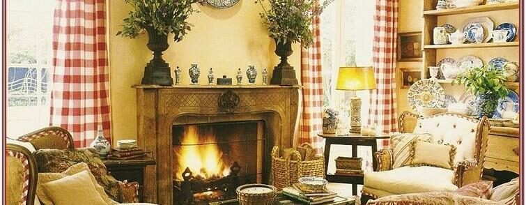 Living Room French Country Wall Decor