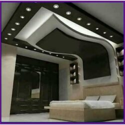 Living Room Gypsum Board Decoration