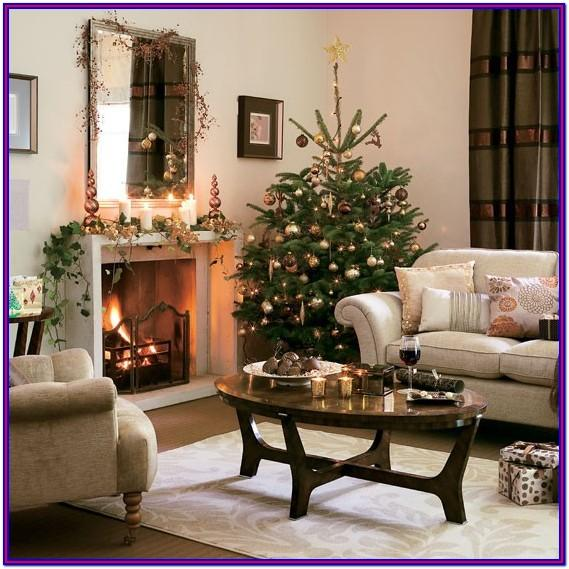 Living Room Holiday Decor Ideas