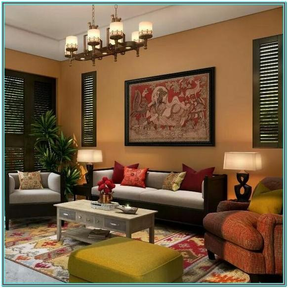 Living Room Indian Style Home Decor