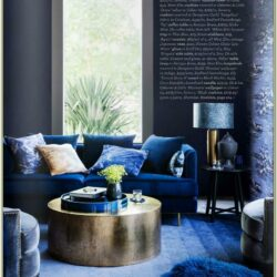 Living Room Indigo Home Decor
