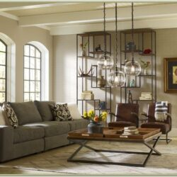 Living Room Industrial Home Decor