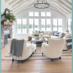 Living Room Lake House Decor Ideas