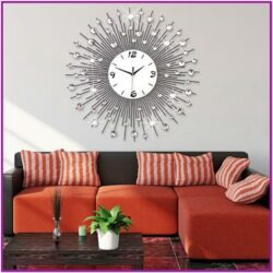 Living Room Large Clock Decor