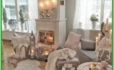 Living Room Rose Gold Home Decor