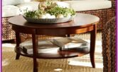 Living Room Round Coffee Table Decor Ideas
