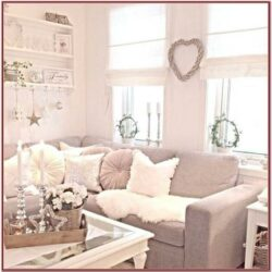Living Room Shabby Chic Wall Decor Ideas