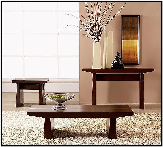 Living Room Side Table Decor