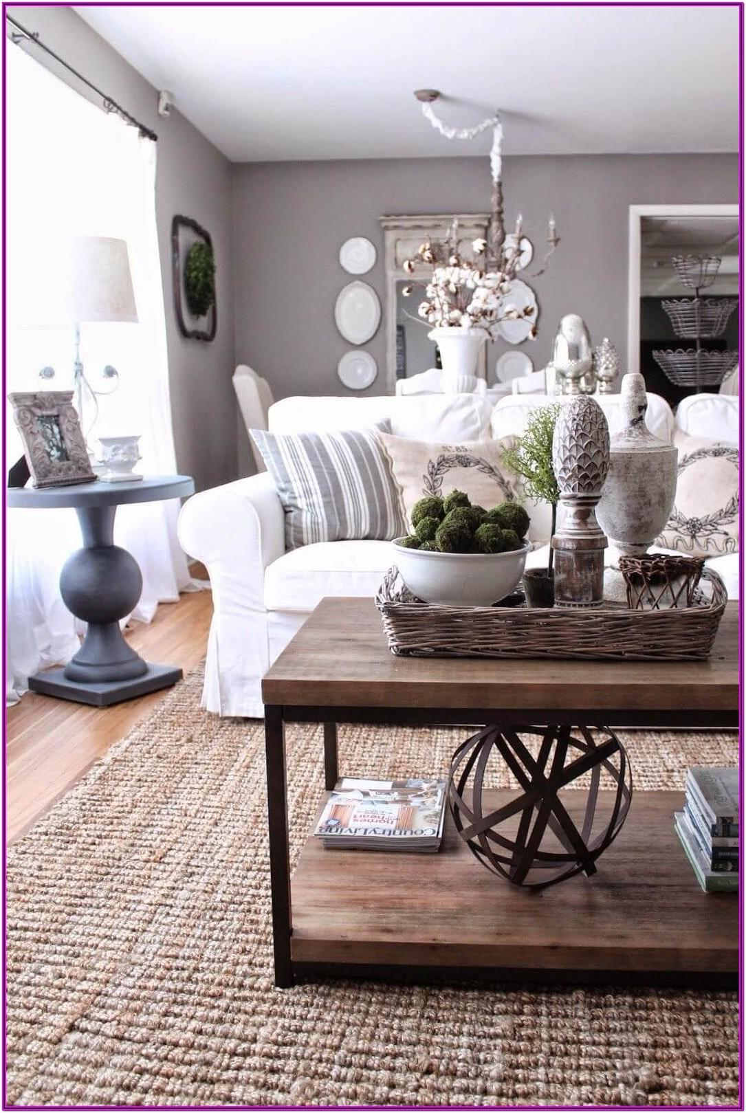 Living Room Table Centerpiece Decor