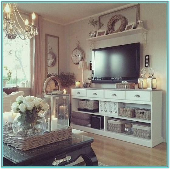 Living Room Tv Stand Decoration Ideas