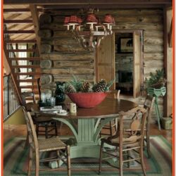 Log Cabin Living Room Decorating Ideas