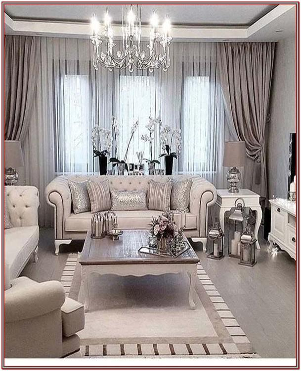 Luxury Living Room Decor 2019